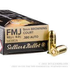 380 Auto / 9mm Browning Court